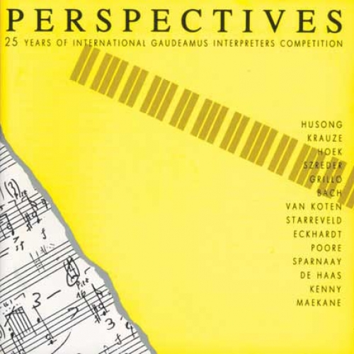 PERSPECTIVES (1998) From Keyboard to Score (1987), Zygmunt Krauze - piano