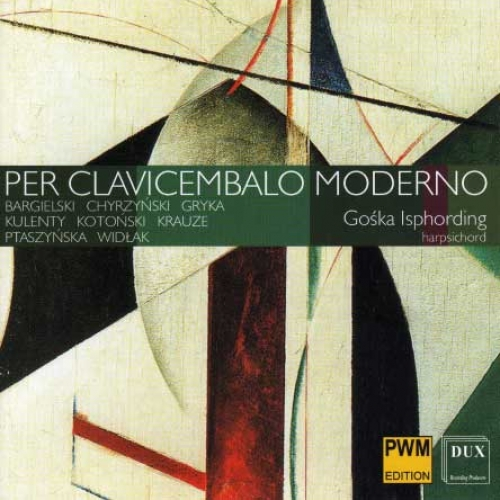 PER CLAVICEMBALO MODERNO (DUX, PWM 2008) Commencement for clavicemballo (1982), performed by Goska Isphording