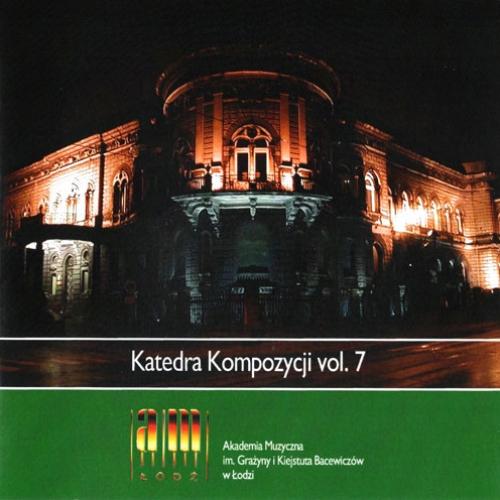 KATEDRA KOMPOZYCJI VOL. 7 Refrain for piano (1993), Piano Quintet (1993)