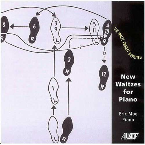 NEW WALTZES FOR PIANO (ALBANY RECORDS 2004) Music Box Waltz for piano (1977), Eric Moe - piano