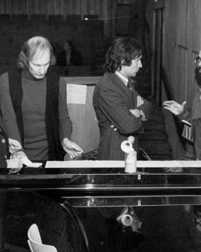 Czesław Palkowski Simeon de Holt i Zygmunt Krauze, 1970