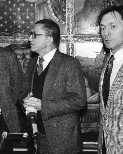 Wieslaw Nowak, Ryszard Stanislawski, Zygmunt Krauze Wernisaz