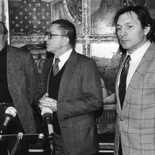 Wieslaw Nowak, Ryszard Stanislawski, Zygmunt Krauze.