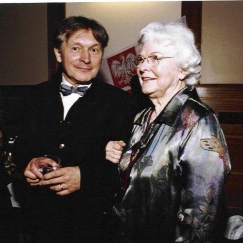 Zygmunt Krauze and Wanda Wilk, 3rd May 2002, Polish Music Center w Los Angeles