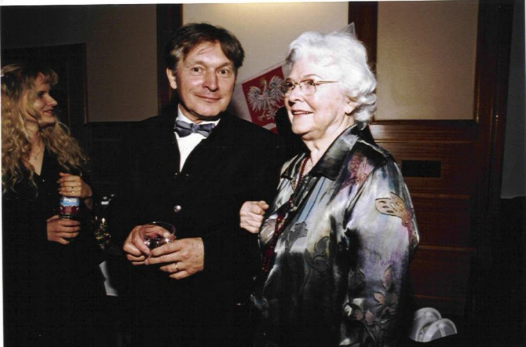 Zygmunt Krauze i Wanda Wilk, 3 maja 2002, Polish Music Center w Los Angeles