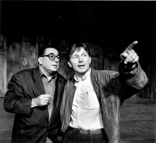 Jorge Lavelli and Zygmunt Krauze