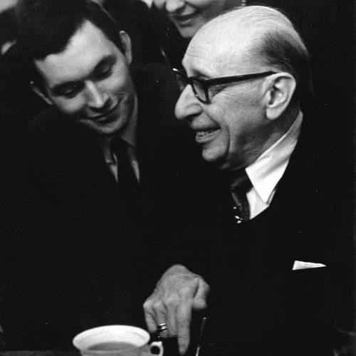 Igor Strawinski and Zygmunt Krauze, Warszawa, 1964